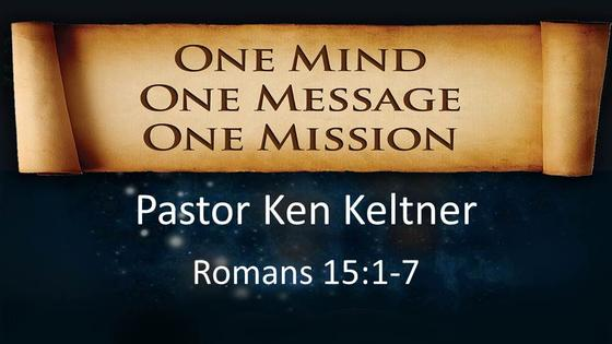 One Mind, One Message, One Mission - Part I